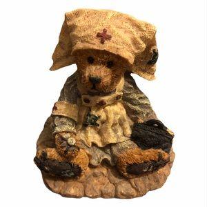 Boyds Bear Nurse Figurine. Clara the Nurse.